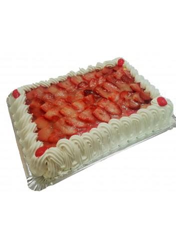 Tarta Fresas con Nata (12 Raciones)