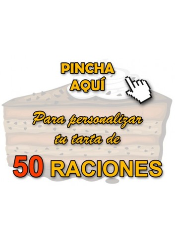Tartas Personalizadas (50 Raciones)
