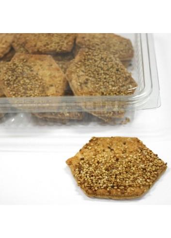 Blister Torta Sésamo integral Sin Azúcar (300 Grs)