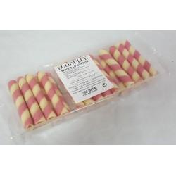 Paquete tubo bicolor fresa